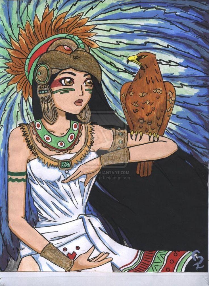 mujeres guerreras aztecas - Buscar con Google | Lugares ...