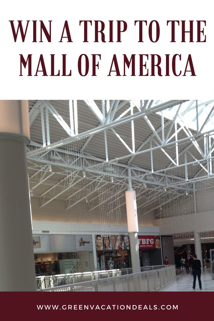 Win a trip to Minneapolis and the Mall of America! Enter this travel sweepstakes and you could be on a vacation to Minneapolis Minnesota! Grand prize includes roundtrip airfare, 2 night hotel stay, a $500 Mall of America gift card and more. #mallofamerica #minneapolis