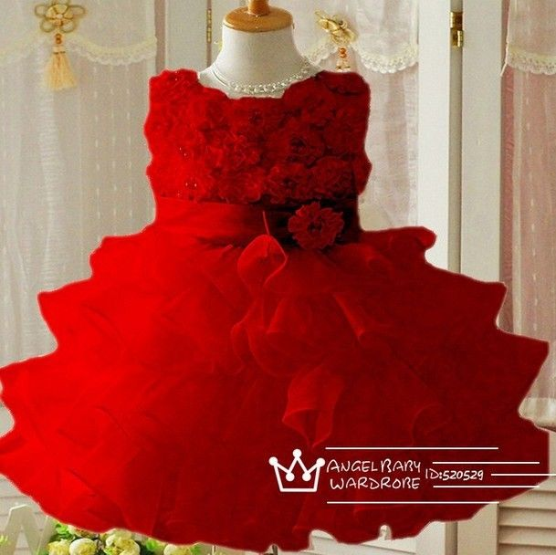 $24.99 Baby Girls Christmas Dress 2T-8 years