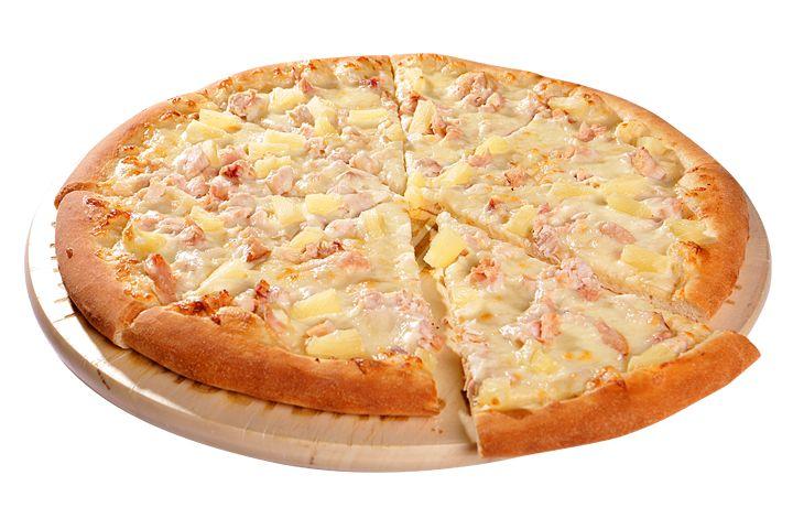 Пицца Гавайская 30см за 340р. - доставка пиццы в Черкесске из ресторана Фарфор