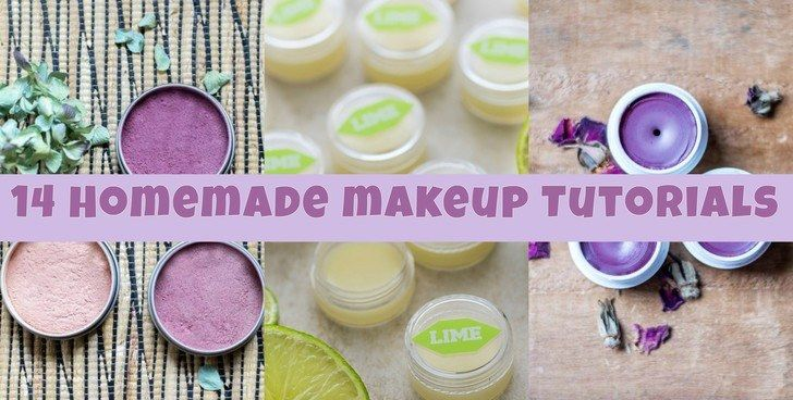 How To Make Your Own Makeup: 14 Tutorials For All-Natural Cosmetics