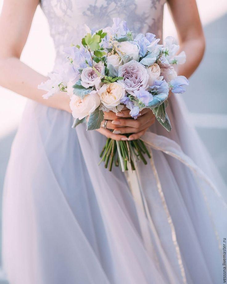 Wedding lace dress | Купить Cвадебное платье - бледно-сиреневый, свадебное платье, свадебное платье с поясом