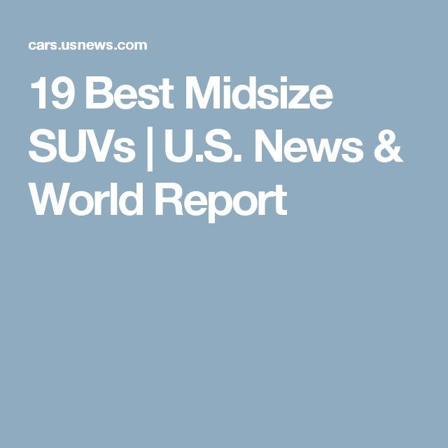 19 Best Midsize SUVs | U.S. News & World Report