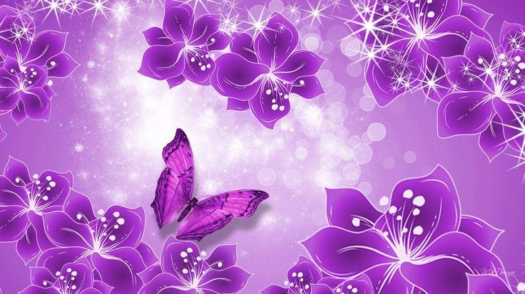 pink flower background hd