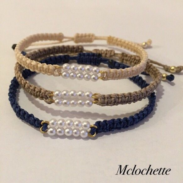 Neutral bands with white pearl focus