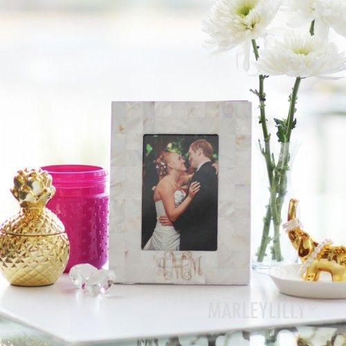 Monogrammed Picture Frame | Marleylilly