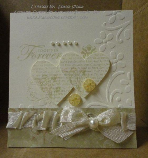 Forever Elegant Wedding Card