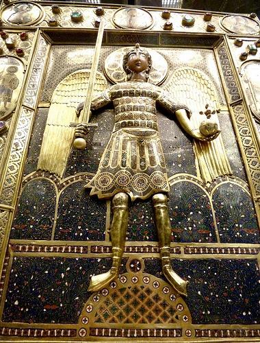 Icona 1 arcangelo Michele,Venice  Medieval