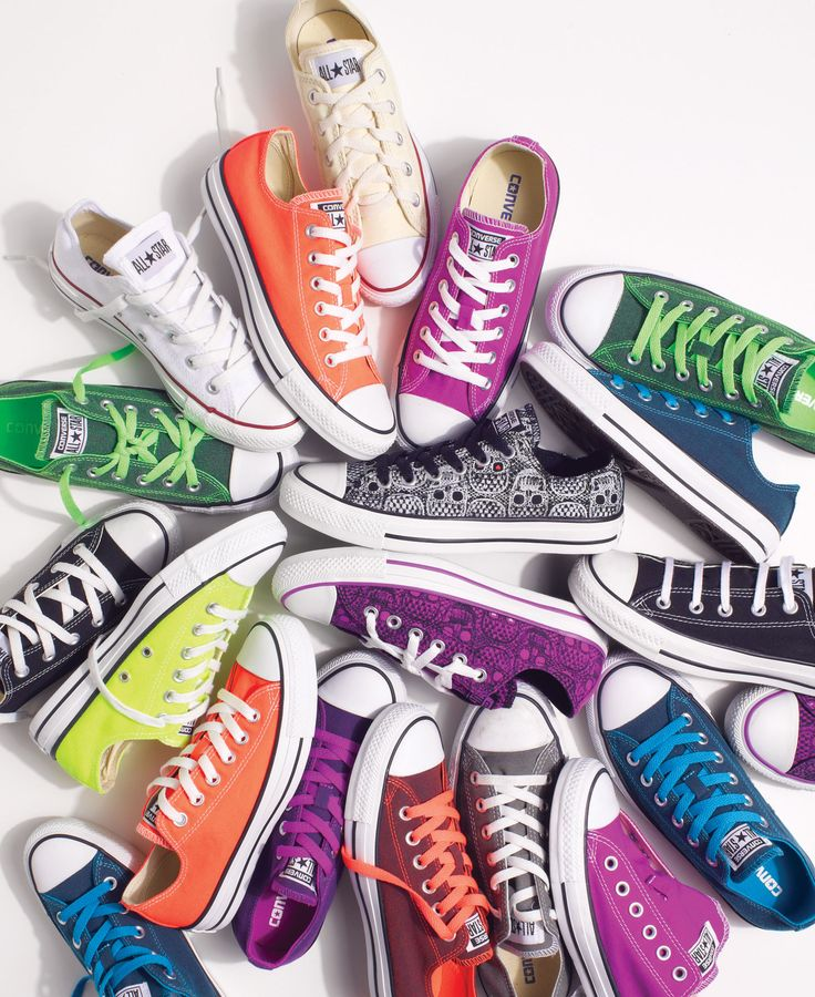"""LOVE the """"Chucks""""! Have worn then since I was a kid...the BEST!"""