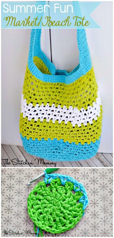 Free Crochet Summer Fun Market Pattern - 25 Free Crochet Patterns for Beginners step by step – 101 Crochet
