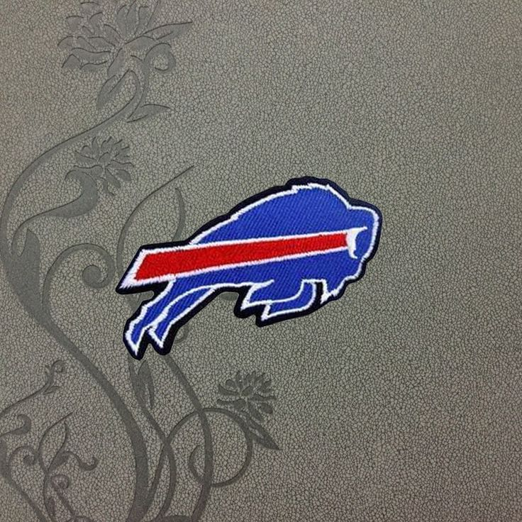 Buffalo Bills team logo Iron on patch Iron on Applique hat patch bag patch Embroidered Iron-On Patches sew on patches