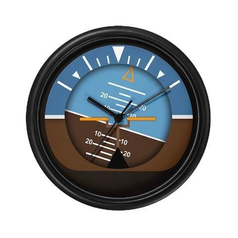 attitude indicator clock!