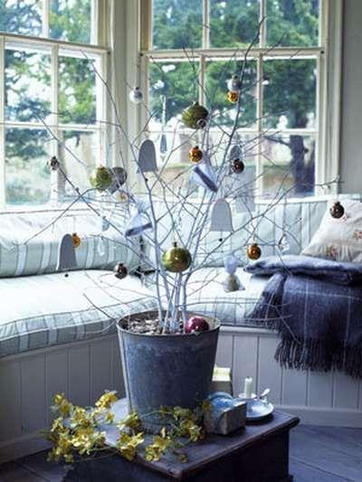 Oltre 25 fantastiche idee su alberi di natale su pinterest - Decorazioni rami secchi ...