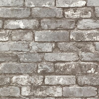"Found it at Wayfair - 33' x 20.5"" Chelsea Brick Wallpaper"