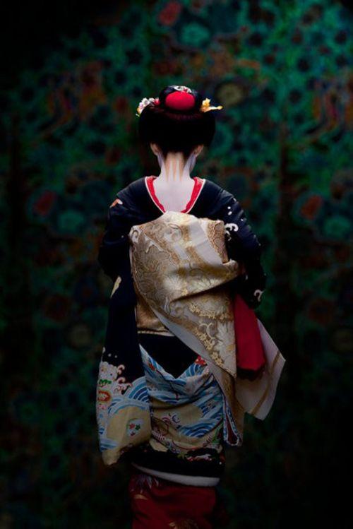Elegant Kimono Woman / Tokyo Pic