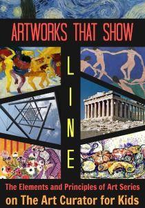 The Art Curator för barn - Exempel konstverk som visar linje - Element och principer för Art - 300