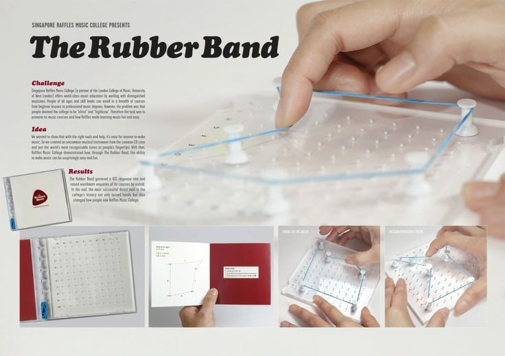 Singapore Raffles Music College | DDB | The Rubber Band | WE LOVE AD
