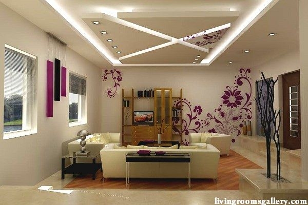 led ceiling lights for suspended ceiling of plasterboard for living room