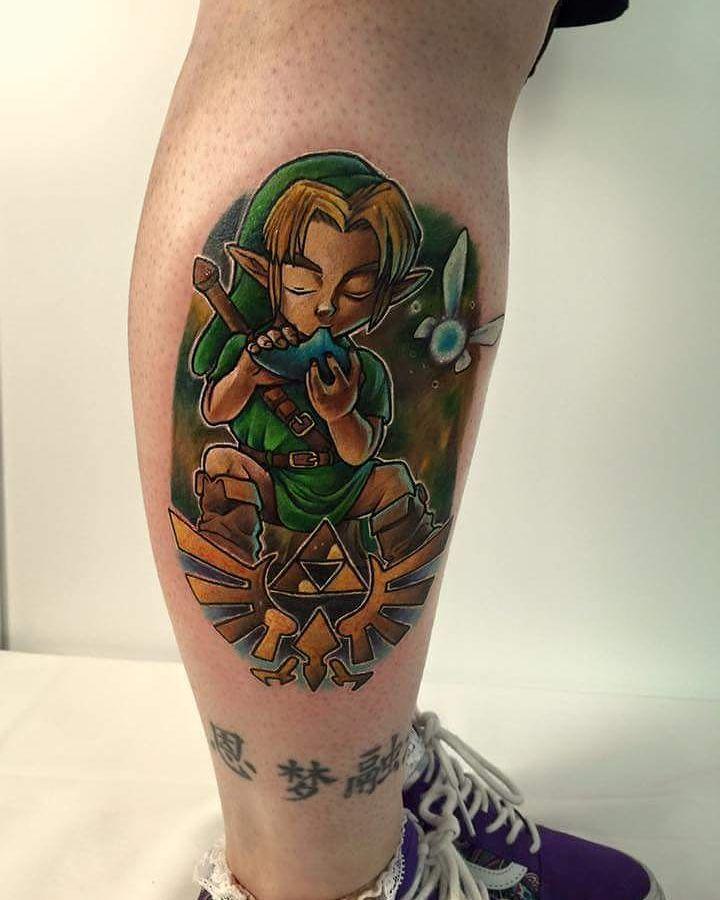 Tattoo Ideas Zelda: 50 Amazing Legend Of Zelda Tattoos