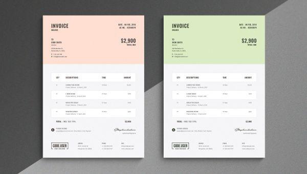 27 Simple Invoice Templates Free Psd Sample Example Downloads Templates Invoicing Invoice Template