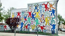 """Graffiti """"We Are The Youth"""" KEITH Allen HARING"""