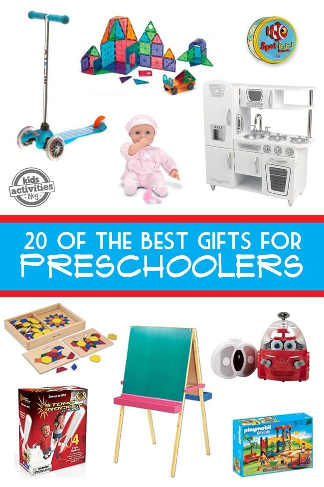20 of the Best Gifts for Preschoolers | Great gift ideas for your toddler that will make learning through play fun!