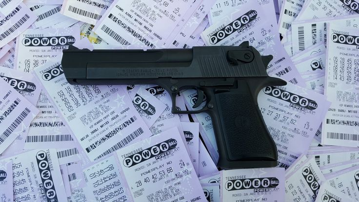 Winning Powerball Lottery Ticket Destroyed By .50 Cal?