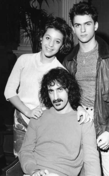 Frank with Moon and Dweezil                                                                                                                                                                                 More