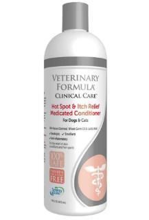 Synergy Labs Veterinary Formula Clinical Care Hot Spot & Itch Relieve Medicated Conditioner - 17 oz.