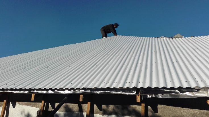 Roof Replacement, New #Colorbond Special Coating Sheets secured #roofing #paramountroofing
