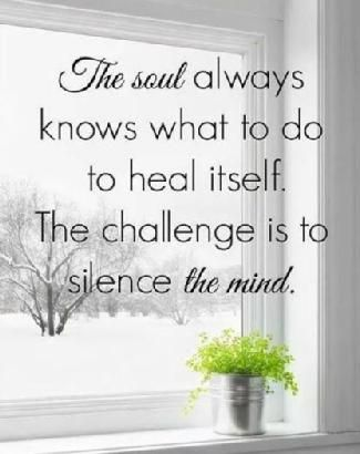 the soul and the mind