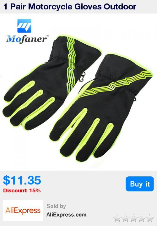 1 Pair Motorcycle Gloves Outdoor Sports Cycling Racing Driving Full Finger Autumn/Winter Gloves * Pub Date: 04:54 Oct 23 2017