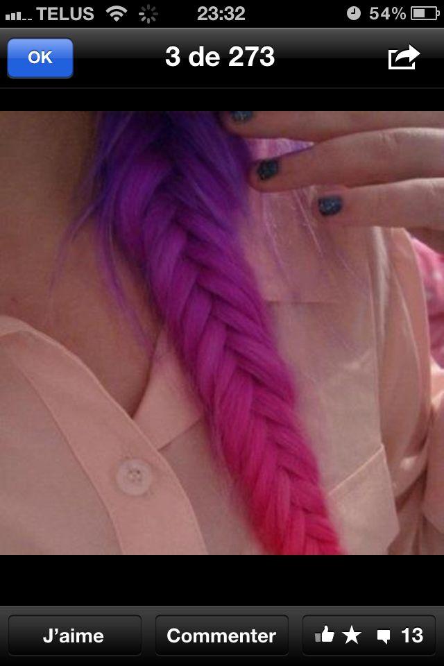 Pin By Joanie Leclerc On Hair Hair Styles Hair Chalk Dyed Hair