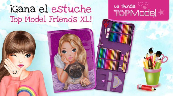 ¡Gana el estuche Top Model Friends XL!