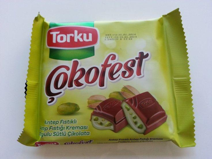 Bu indirimi kaçırmayın    Torku Çokofest Antep Fıstıklı Çikolata 3,68 TL yerine sadece 1,90 TL  www.cikolatalimani.com