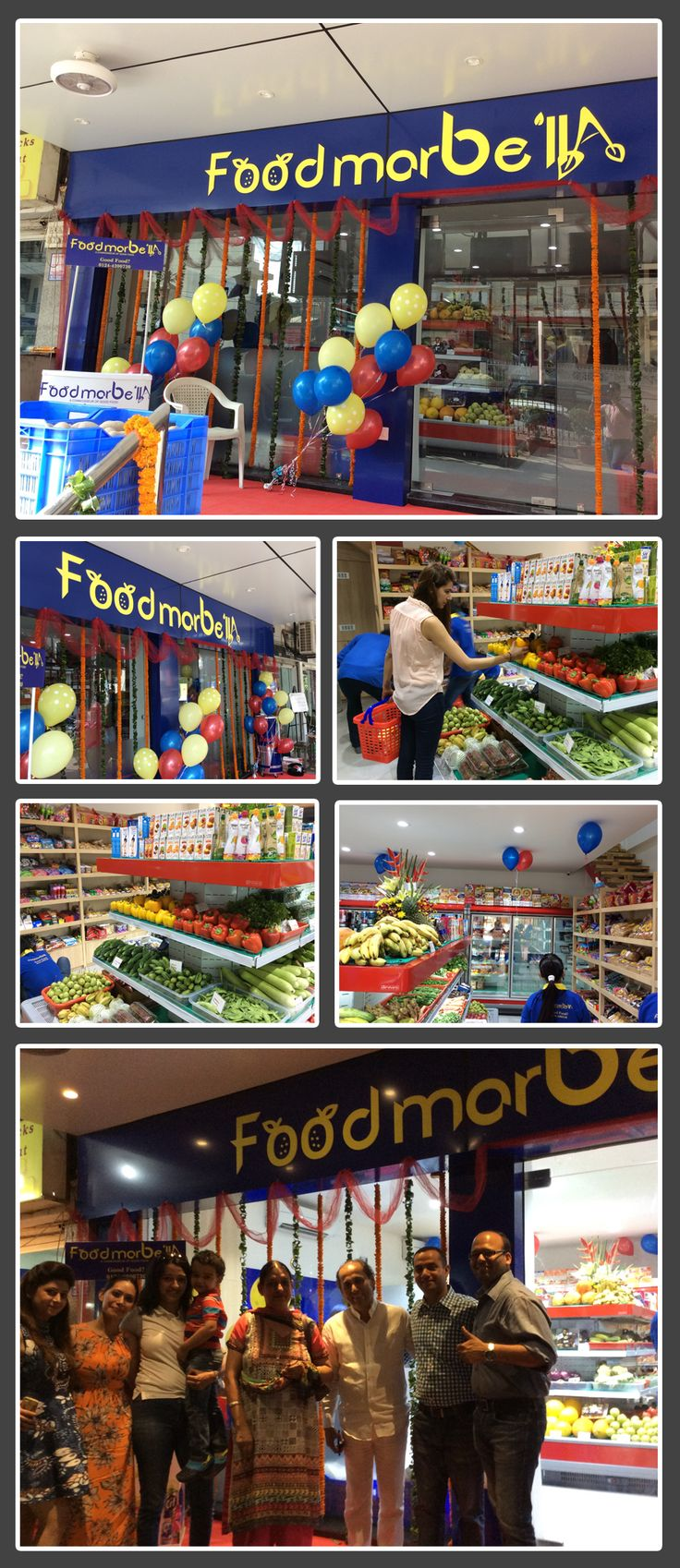 Hello friends, the sneak preview of the day 1, #groceryshopping fun at  #FodMarbella .  #AskMarbella for the best tasting  #gourmet #food . Thanks to all our happy customers to help us make this happen.  #Gurgaon