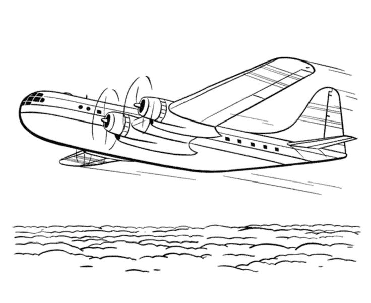 38 best Airplane Coloring Pages images on Pinterest   Airplanes ...