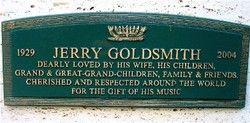 Jerry Goldsmith (1929 - 2004)
