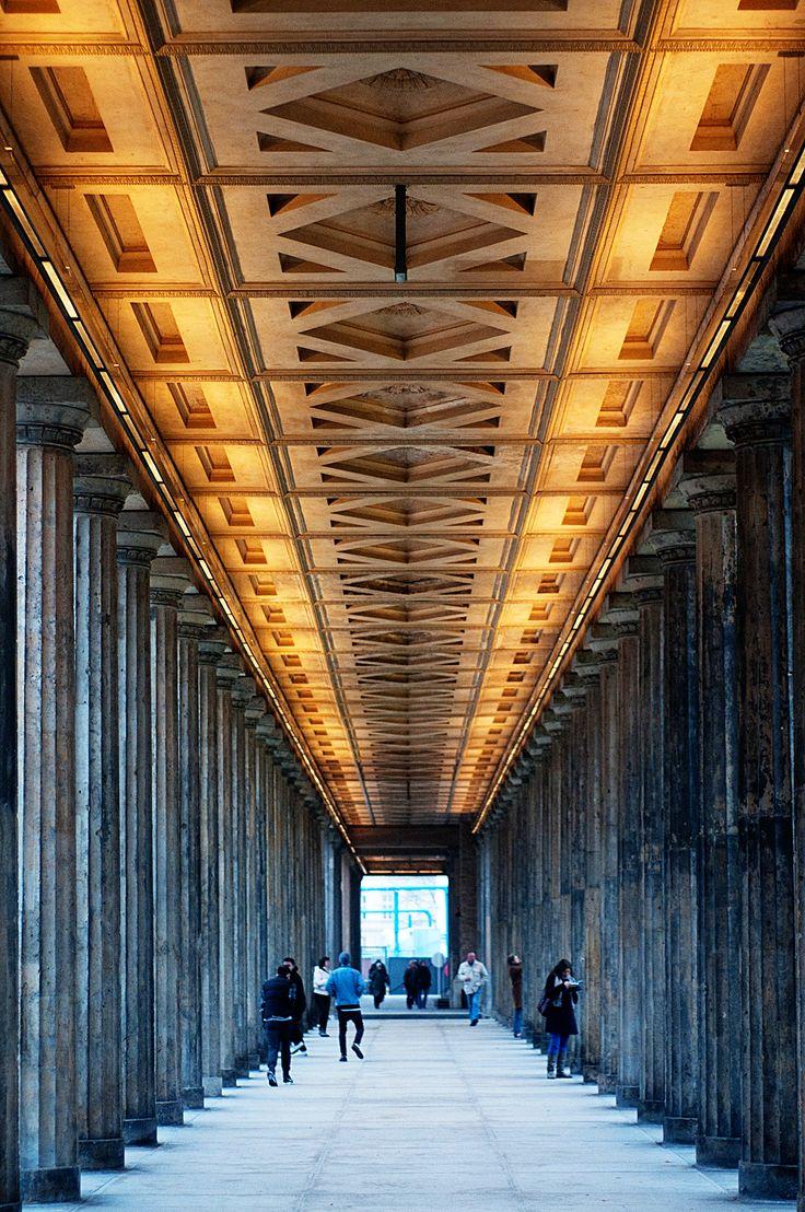 Berlin, Museum Island ceiling