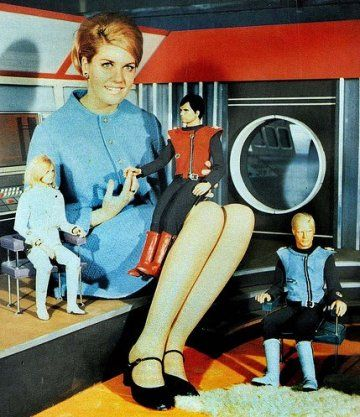 """""""Captain Scarlet and the Mysterons,"""" 1967"""