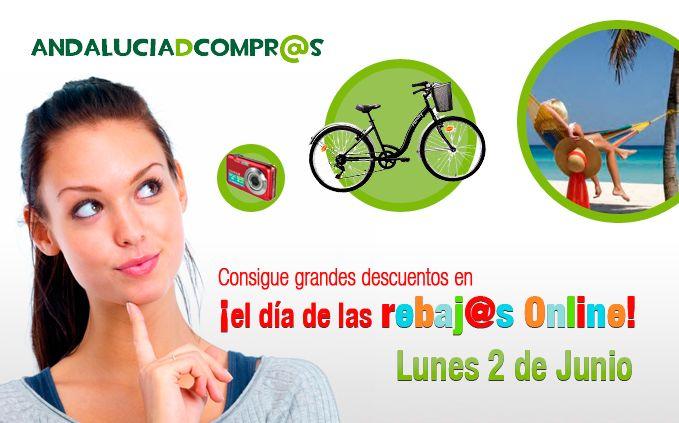 Lunes, 2 DE JUNIO _ Consigue los mejores descuentos y rebajas online en https://www.andaluciadecompras.es/portal/