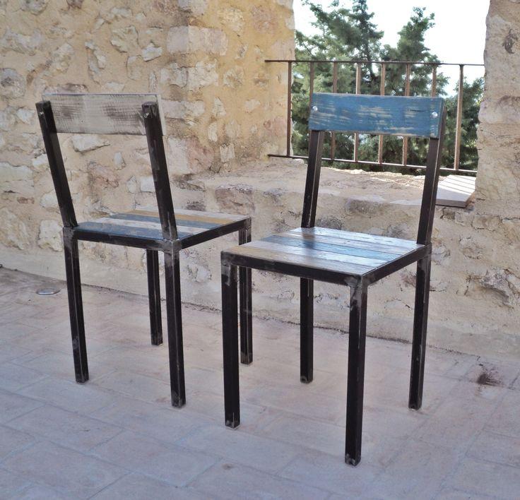 78 ideas about sedie in legno su pinterest sedie for Sedie ferro legno