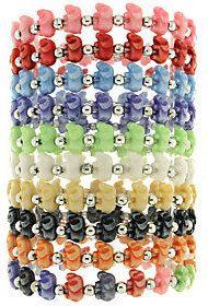TRRTLZ As Is Trrtlz Set of 10 Animal Stretch Bracelets ($4.50)