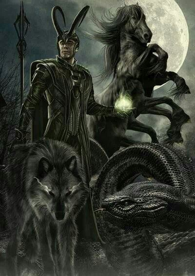 43 best Loki's kids images on Pinterest | Loki thor, Loki ... Lokis Children Norse Mythology