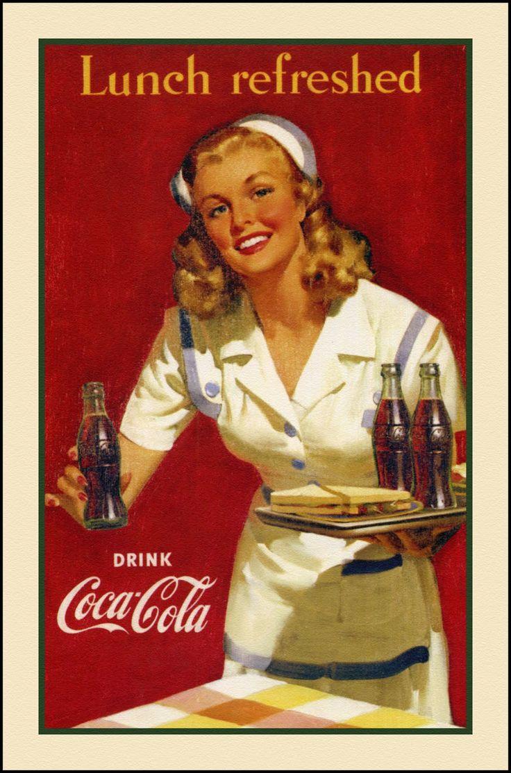 Haddon sundblom coca cola the art of haddon sundblom - Nevera coca cola retro ...
