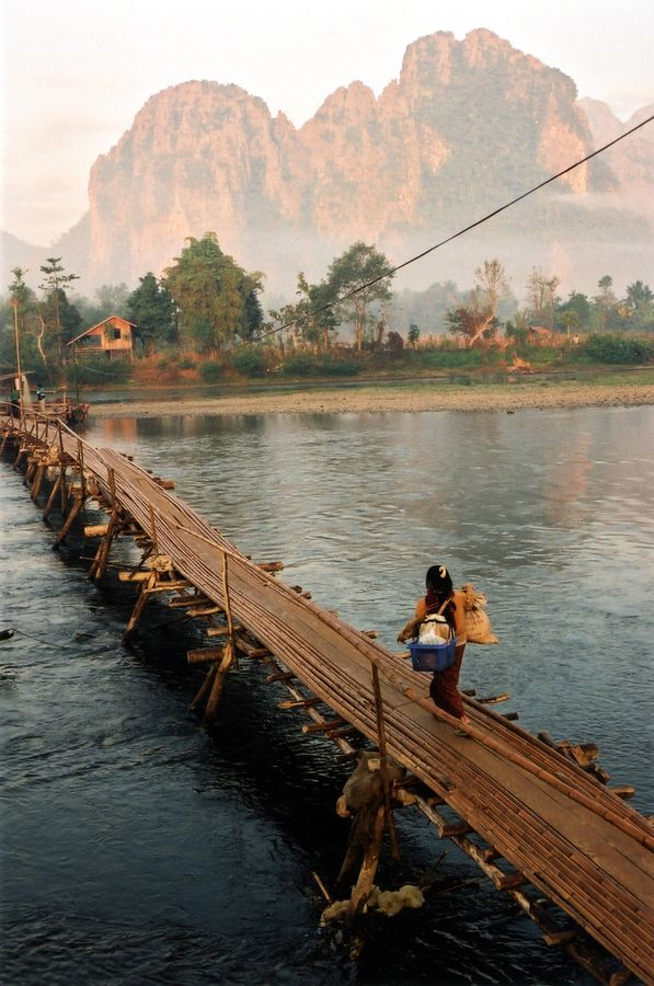 Laos  - never been but would love to just sit and soak it all in