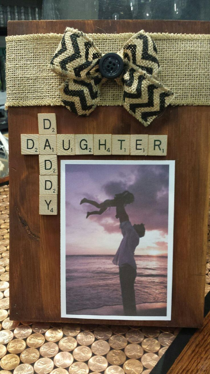 Scrabble Frame for Father's Day - $27.00