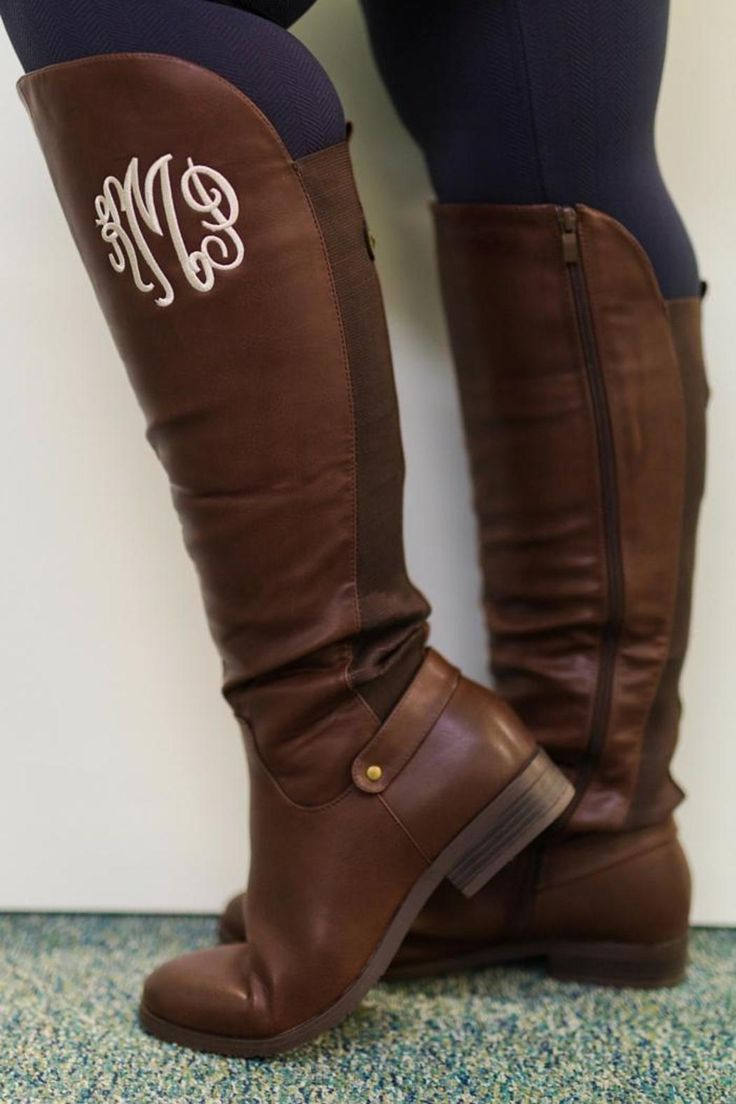17 best ideas about monogram boots on pinterest
