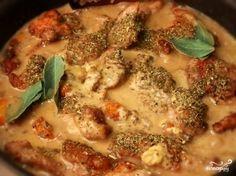 Фрикасе из кролика - пошаговый кулинарный рецепт на Повар.ру
