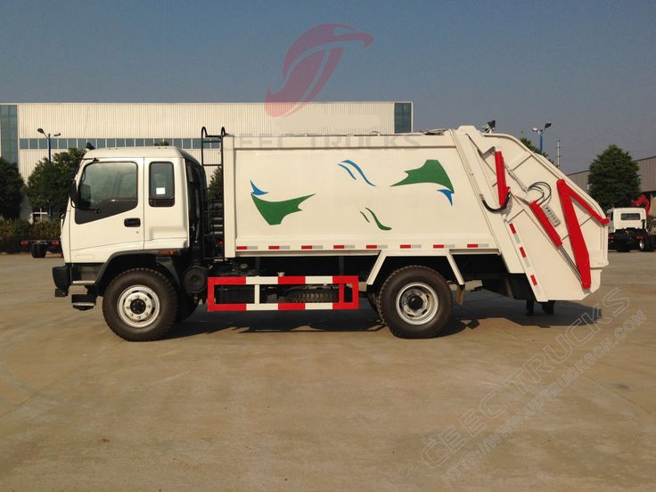 12cbm FVR Isuzu compressor garbage truck refuse collection vehicle - refuse collector sample resume